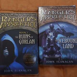 Ranger's apprentice series