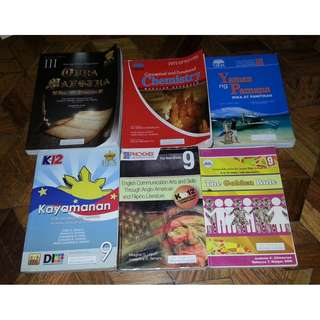 Assorted K-12 Books (Grade 9) BUNDLE