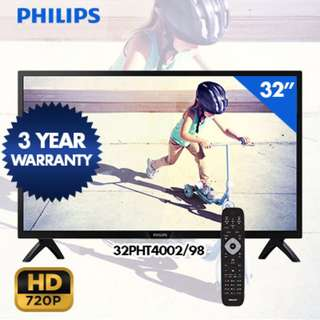 "Brand New Philips 32"" HD Digital LED TV 32PHT4002(sealed)"