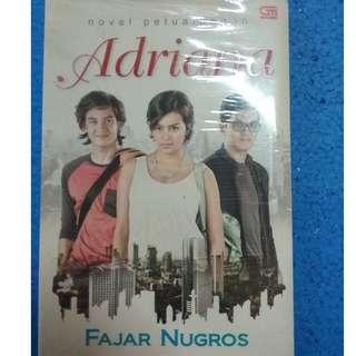 Novel Petualangan Adriana - Fajar Nugros