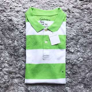 Giordano Stripes Polo Shirt
