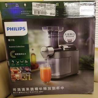 Philips Slow Juicer HR1947 慢磨搾汁機