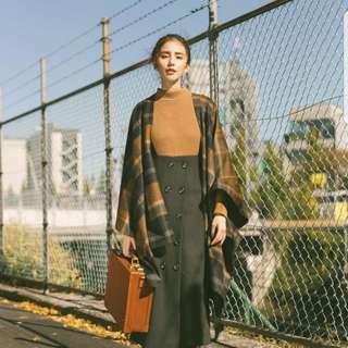 [徵] dresseum 肉麻老女人 排扣羊毛長窄裙 s號或xs號 酒紅或駝色 從前從前 茂木太太