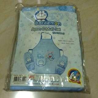 Apron & Muff Set Doraemon