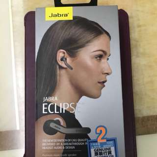 Jabra eclipse black bluetooth