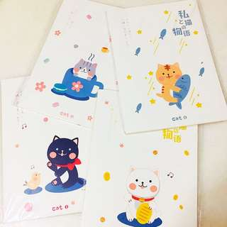 [CATS] B5 Notebook /Lined Note Pad/ Soft Cover Diary/ Clean/ Minimalistic/ Sleek/ Trendy