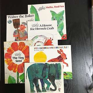 Eric Carle Paperback Collection