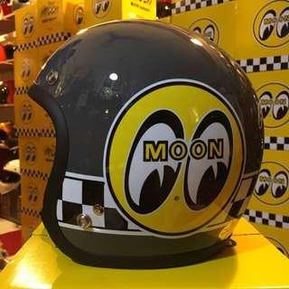 Original Mooneyes open face helmet Size M
