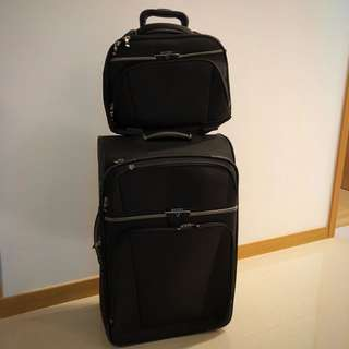 Antler luggage (inclusive of document and laptop bag!)