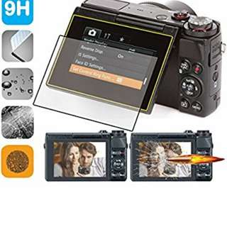 BN canon g7x mark 1 and 2 glass screen protector