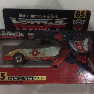Takara Transformers Red Alert G1 1980s toy