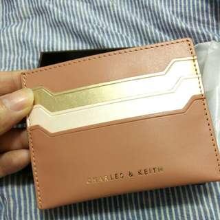 全新CHARLES & KEITH 卡夾 零錢包