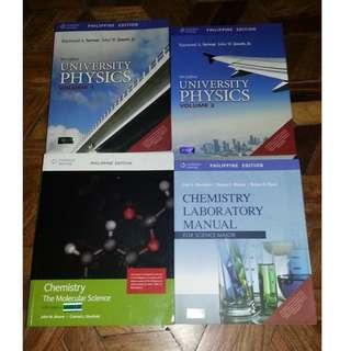 K-12 / College Physics & Chemistry Book BUNDLES