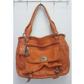 AUTHENTIC LILY ROSE GENUINE LEATHER BAG