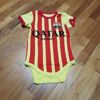 Barcelona Baby Romper