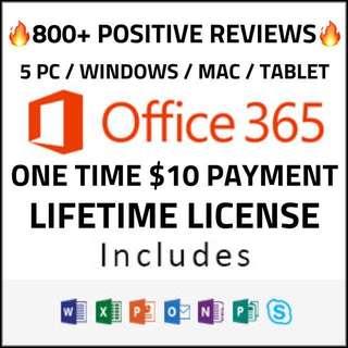 Lifetime Microsoft Office 365