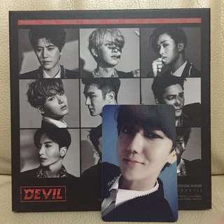 Super Junior Devil(藝聲小卡)
