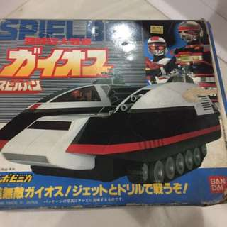 Bandai Spielban Battle Car Gaios 1986