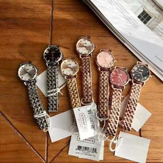 COACH 28mm size watch for women