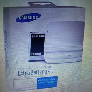 Samsung Note 2 電池充電盒 不連電池