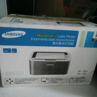 Samsung laser, monochrome printer