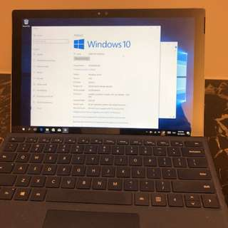 Microsoft Surface Pro 4 Tablet - very new