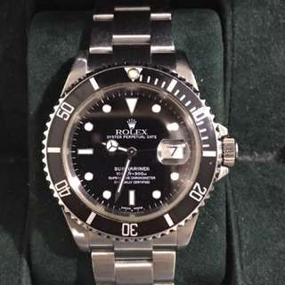 WTS Cheapest SEL Rolex Submariner 16610