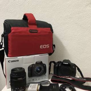 Canon EOS 700D DSLR- Used