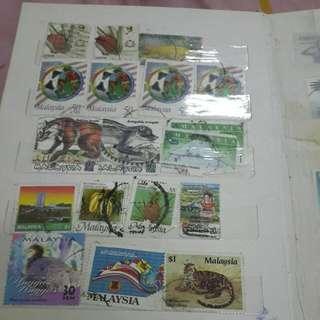 Old Stamps- semuanya