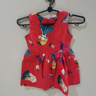 Baby Girl Dress RED