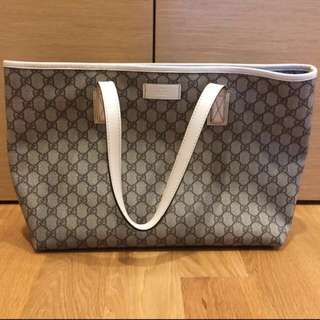 Authentic Gucci Large Tote Bag (excellent Condition)