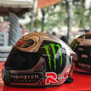 Helmet HJC Rpha10+ Speed Machine