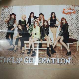 snsd poster