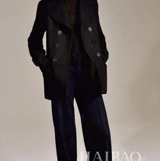 Zara Studio Black Wool Jacket