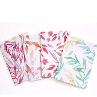 [PETALS] B5 Notebook /Lined Note Pad/ Soft Cover Diary/ Clean/ Minimalistic/ Sleek/ Trendy
