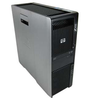 HP Z600 Workstation Xeon X5675 3.46GHz Turbo 6-Core 12 Thread 4GB 1000GB Quadro 600 NO OS