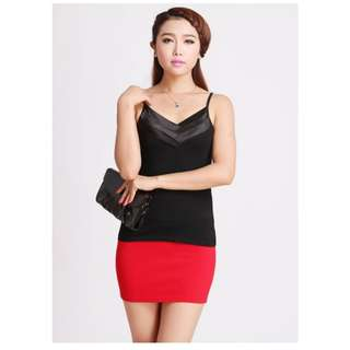 Women Camisole Sling Vest Korean Sexy Style V-Neck Shirt