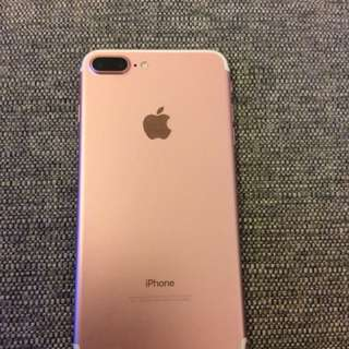 Iphone 7 plus, 128 gb rose pink