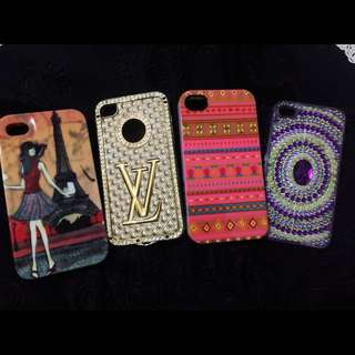 iPhone 4 or 4s Cases GET ALL FOR P200 ONLY