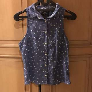 BERSHKA STARRY BLOUSE