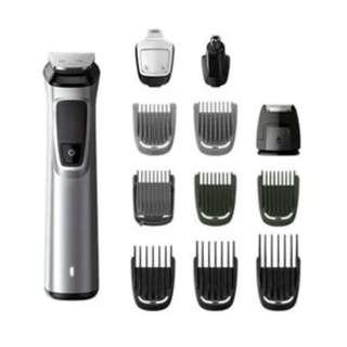 Philips MG7710電動鬚刨(12合1造型套裝:適用於面部、頭髮、身體)