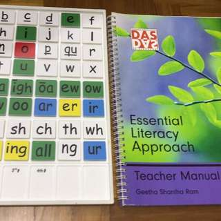 Brand new Dyslexia Finger fast spell n teacher manual