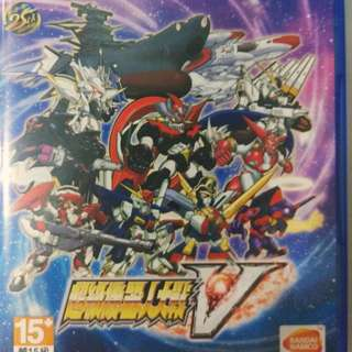 Super robot wars V (PS4 CHINESE VERSION)
