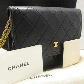Chanel Vintage Lambskin Pochette