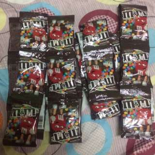 M&M  20 packs