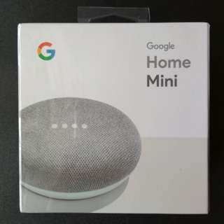 Google Home Mini (Chalk) *Brand New*