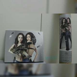 *Twins 親筆簽名* 2•BE•FREE 唱片CD & 限量珍藏巨型海報