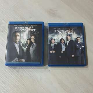 <SOLD> $12 = Season 1 & 2 Person of Interest
