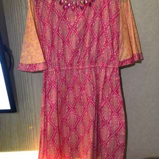 dress batik monique