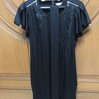 Office dress with belt